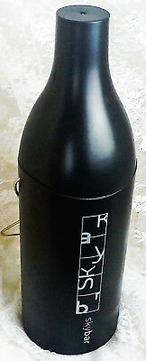 Sunbeam Skybar Insulated Wine Bottle Cooler Travel Case - Charcoal - EUC