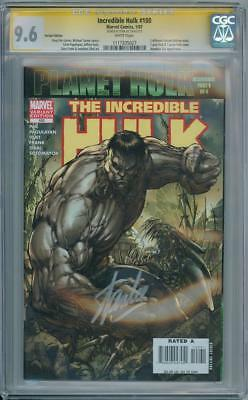 Incredible Hulk 100 Grey Turner Variant Cgc 9.6 Signature Series Signed Stan Lee