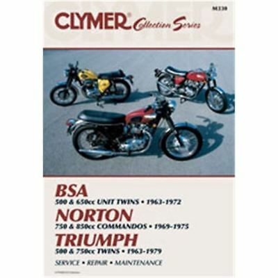 Clymer Street Bike Manual - Vintage British Motorcycles
