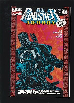 Punisher Armory #9 HTF 2nd to Last Issue of Series!
