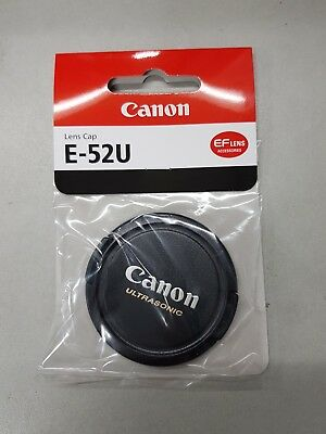 Genuine Canon E-52U lens cap new UK