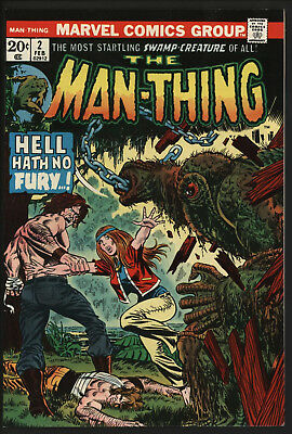 Man-Thing 2 Marvel Comics VFN Original owner Non Distributed in UK SCARCE