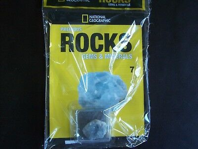 National Geographic Precious Rocks Gems & Minerals Magazine Issue 7 Celestine