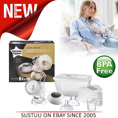 Tommee Tippee Closer to Nature Electric Breast Pump│Home OR On-The-Go│BPA Free