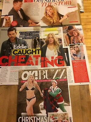 LeAnn Rimes, Lot of THREE Full and Two Page Clippings