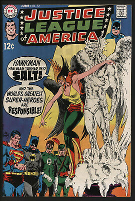 Comic - Justice league of America 72. Very glossy VFN Plus. White pages.