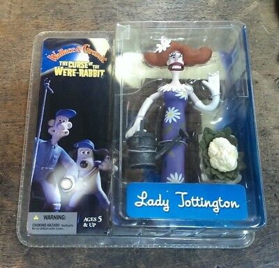 Wallace and Gromit Curse of The Were-Rabbit - Lady Tottington Action Figure