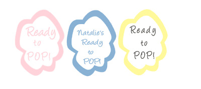 Personalised Baby Shower Ready to Pop ! Popcorn shape stickers,labels favor bag