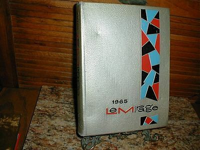 1965 West Texas State College University Yearbook, Canyon, Texas, Le Mirage