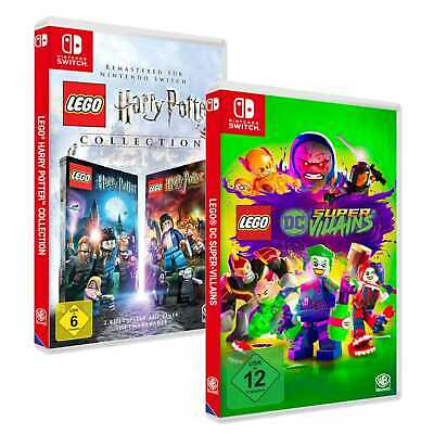 Lego Harry Potter Collection + Lego DC Super Villains Nintendo Switch NEU&OVP