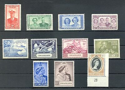 South Africa -Swaziland-1947/1853 -- 11 St.. */** Vf