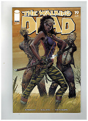 THE WALKING DEAD #19  15th Anniversary - Color Variant       / 2018 Image Comics