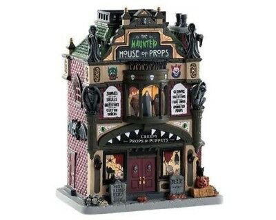 Lemax Spooky Town Lighted Haunted House of Props New in Box 2018