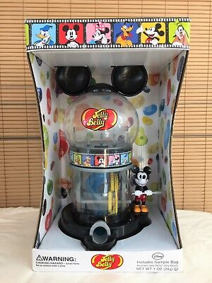 JELLY BELLY DISNEY MICKEY MOUSE Bean Candy Dispenser NEW Collectible