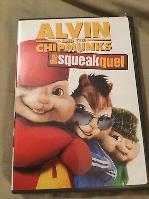 Alvin and the Chipmunks: The Squeakquel (DVD, 2010)