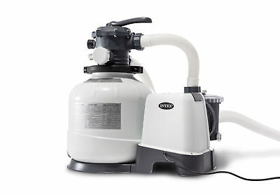 Intex Krystal Clear 2800 GPH Above Ground Swimming Pool Sand Filter Pump 26647EG