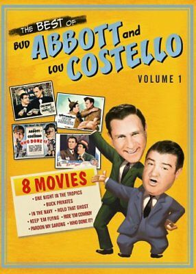 BEST OF BUD ABBOTT LOU COSTELLO VOL 1 New DVD 8 Films Buck Privates Who Done It