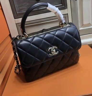 SMALL FLAP BAG -CHANEL Double Flap with Top Handle -  2,500.00 ... 733012a51d