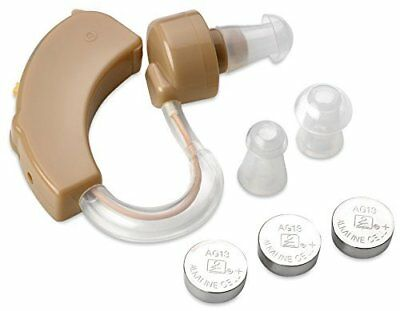 Hearing Aid Personal Ear Behind the Ear Sound Amplifier Mini Size Sound Enhancer
