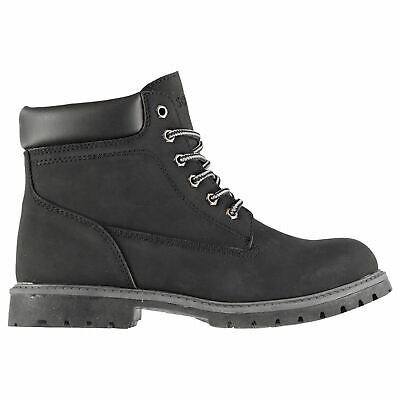 Soviet Kids Boys 6in Junior Boots Rugged Lace Up Comfortable Fit Tonal Stitching