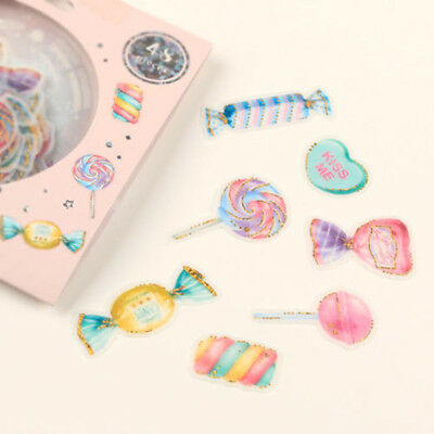 Diary Stationery Decoration Crystal Ball Cat Candy Stickers Scrapbooking