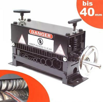 CABLE WIRE STRIPPING MACHINE 40mm STRIPPER SCRAP COPPER