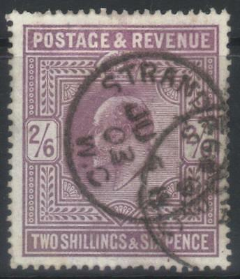 Gb 1902-1910 Defins Sg260 Fine Used Cat £150