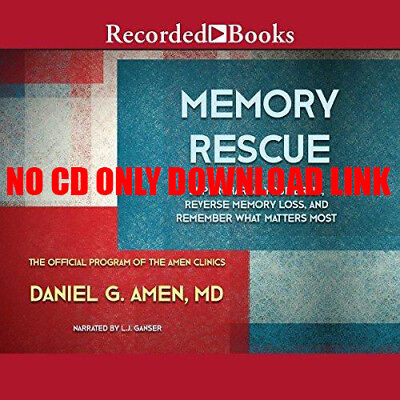 Memory Rescue: Supercharge Your Brain, Reverse Memory Loss, and ... (Audiobook)