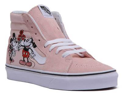 VANS DISNEY SK8 Hi Womens Hi Top Trainers with Mickey Mouse