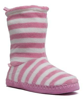Joules Homestead Womens Pink White Other Fabric Socks