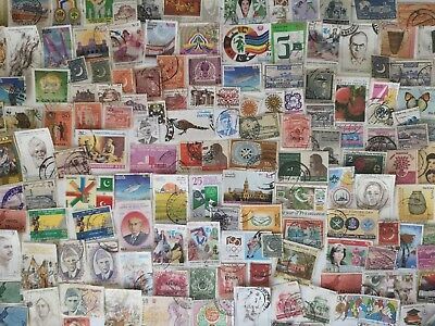 600 Different Pakistan Stamp Collection
