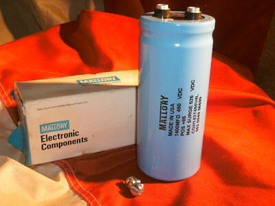 New Mallory 320000uF 10V Large Can Aluminum Electrolytic Capacitor mfd DC CGS