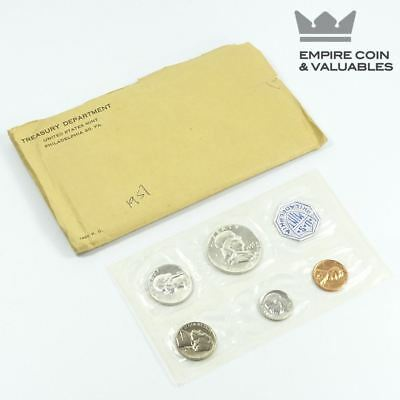 1957 US Mint PROOF SET, Philadelphia Flat Pack