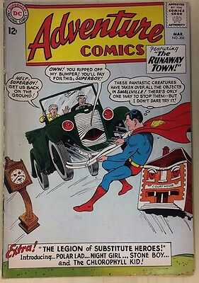 ADVENTURE COMICS #306 (1963) DC Comics intro Legion of Substitute Heroes VG+
