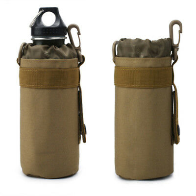 Outdoor Tactical Military Molle Water Bottle Bag Kettle Sleeve Holder Pouch B