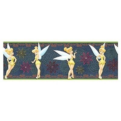Disney Tinkerbell Denim Wall Border