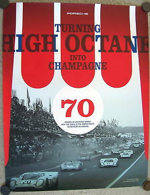 Porsche Official 917 At Le Mans Decades Racecar Showroom Poster 2007