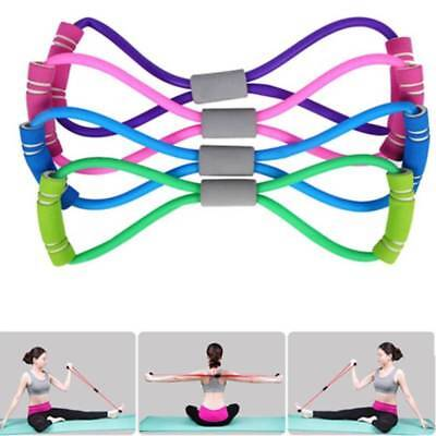 Exercise Resistance Band Tube Elastic Equipment Workout Fitness Yoga Loop Bands