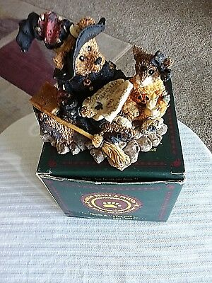 Boyd's Resin BEARSTONE~#2269 EMMA THE WITCHY BEAR~1E NEW w/Original Box