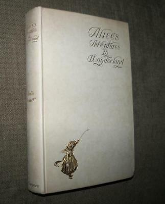 1901 Alice's Adventures In Wonderland 1St Edition Carroll Newell Scarce Dj Alice