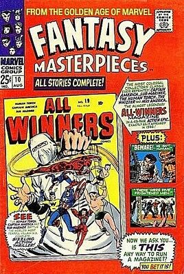 FANTASY MASTERPIECES #10 G, ALL-WINNERS SQUAD, Marvel Comics 1967 Stock Image