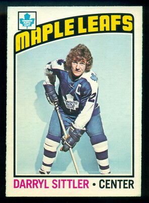1976-77 Opc O Pee Chee #207 Darryl Sittler Nm Toronto Maple Leafs Hockey Card