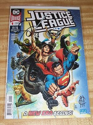 Justice League #1! (2018) Signed by Scott Snyder & Jim Cheung! NM! COA!