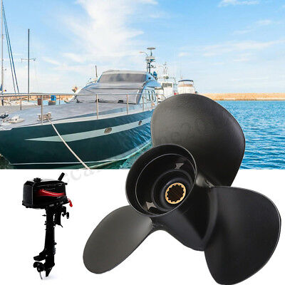 10 3/8 x 13 Aluminum Boat Outboard Propeller For Mercury 25-70HP 48-73136A40