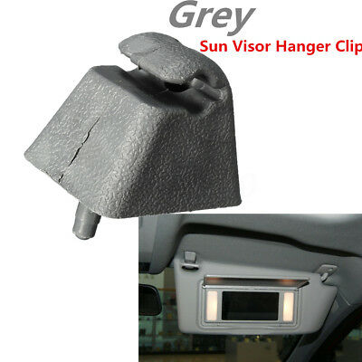Support Clip Visière Pare Soleil Gris pr Vauxhall Opel Corsa Astra Zafira Vectra