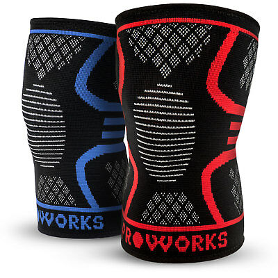 Proworks Knee Support Sleeve, Best Ligament/Tendon Injury Brace For Men & Women