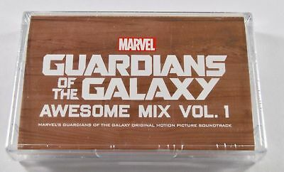 Guardians Of The Galaxy Awesome Mix Volume 1 MC Cassette Tape New (UK) 2017