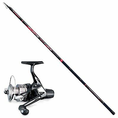 KP3487 Bolognese Kit Cane Mehl Trabucco 7 m + Shimano Catana Rolle