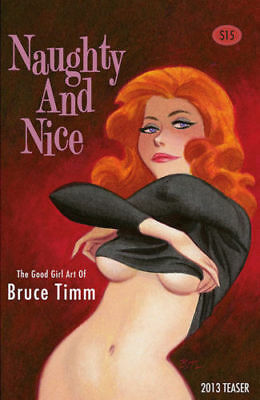 Naughty and Nice The Good Girl Art Bruce Timm Hand Signed Limited Edition 2013