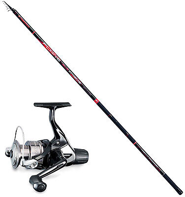 KP3468 Bolognese Angelrute Flare Rod 5 m + Shimano Catana 2500 Rolle